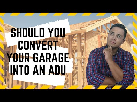 Accessory Dwelling units: Should You Convert your Garage Into an A.D.U.?