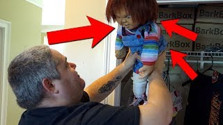 IS MY CHUCKY DOLL ALIVE?!