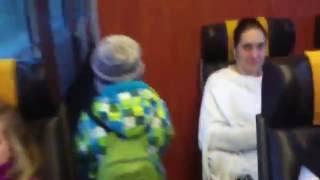 Regiojet, prohlídka vlaku + nový vagon Astra, prosinec 2014