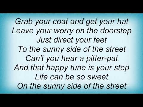 Billie Holiday - On The Sunny Side Of The Street Lyrics_1