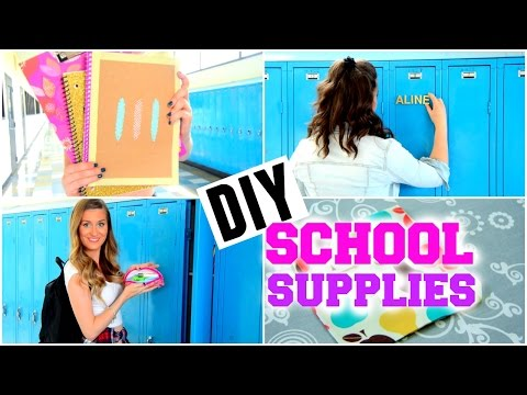 Back To School Diy Locker Organization Decorations Tumblr