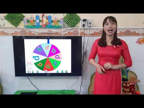 Ôn nhóm chữ cái b,d,đ.  Lớp 5 tuổi - TMN Thái Thành