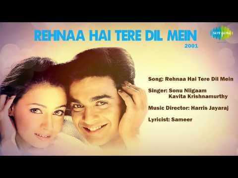 Rehnaa Hai Tere Dil Mein Title Song - Dia Mirza & R Madhavan - Harris Jayaraj