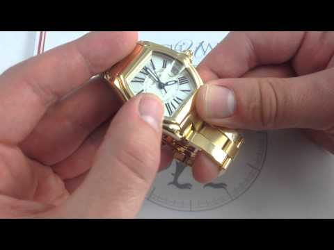 Cartier Roadster 18K Yellow Gold Luxury Watch Review