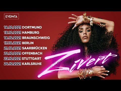 ZIVERT. Сольный тур в Германии 2021