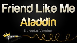 Aladdin   Friend Like Me (Karaoke Version)