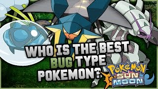 Araquanid  - (Pokémon) - Who Is The BEST NEW Bug Type Pokemon In Pokemon Sun and Moon?