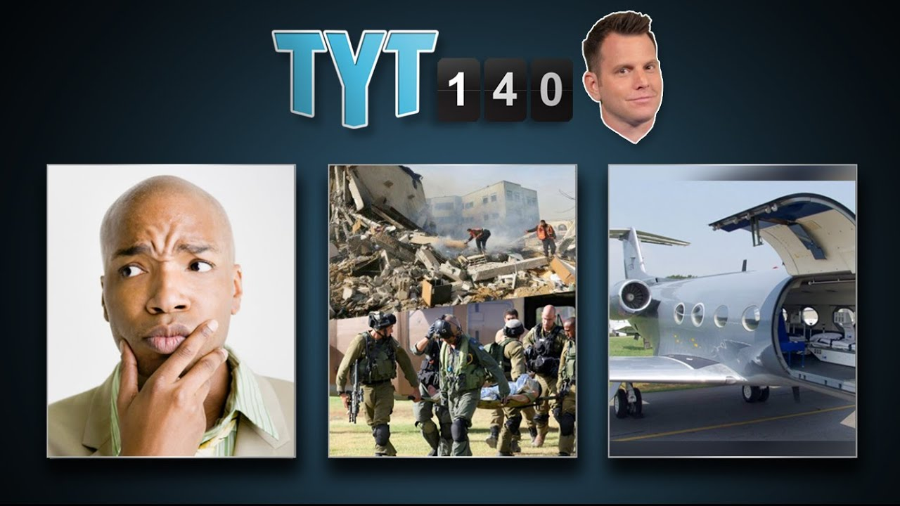 Ceasefire Fails, LGBT Win, Ebola Victims To US & $10,000 Turd   TYT140 (August 1, 2014) thumbnail