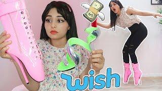 اشتريت أغرب الأحذية من موقع Wish | طحت على وجهي ...