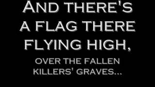 Anti Flag - Stars and Stripes (Lyrics)