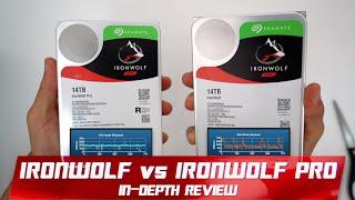 Seagate IronWolf vs IronWolf Pro 14TB   Best Hard Drive 2019