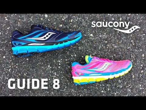Running Shoe Overview: Saucony Guide 8