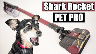 The ULTIMATE Pet Hair SLAYER!! - Shark Rocket PET PRO Cordless Stick Vacuum