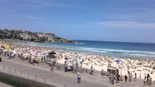美しいボンダイビーチ、シドニーBeautifulBondiBeach,Sydney