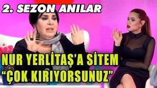 Nihal Candan Gözyaşları İçinde Nur Yerlitaş'a Sitem Etti!