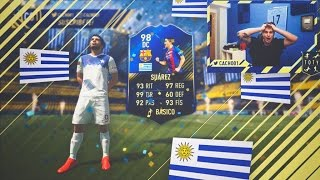 LUIS SUAREZ TOTY IN A PACK!!!!!! | FIFA 17