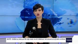 RTK3 Lajmet e orës 13:00 27.03.2020