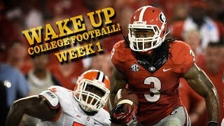 The awesome, unexpected, and meaningfulof Week1 (Wake Up, College Football!) thumbnail
