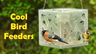 Videos for Cats to Watch : Birds on Cool Bird Feeders