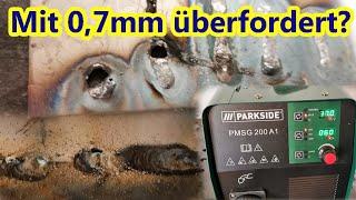 Überfordert? LIDL Multischweißgerät und Dünnblech