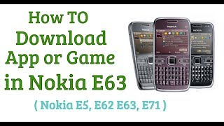 nokia e63 software update - मुफ्त ऑनलाइन