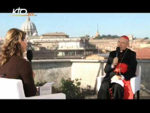 Entretien inédit : Cardinal Paul Poupard