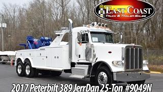 2017 Peterbilt 389 25Ton with Jerr-Dan 25 Ton INT Tandem Axle - Stock#9049N
