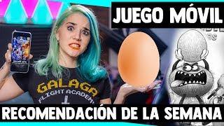 JUEGOS MÓVILES RECOMENDADOS - Bad Hungry Monster y Galaga Revenge