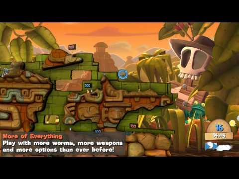 Worms Clan Wars Steam Key GLOBAL - video trailer