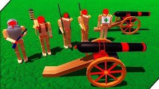 ЭТО ПОБЕДА - Игра Wooden Battles ( 5 серия ) Битва солдатиков