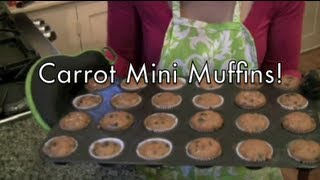 Coconut Flour Carrot Mini Muffins