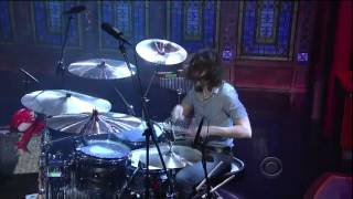 """Whirring"" by The Joy Formidable on Late Show With David Letterman"