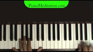 You are My King (Amazing Love) - How to play on Piano