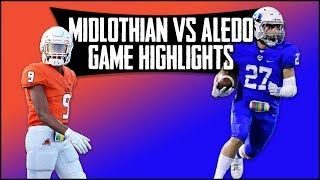 Midlothian Vs. Aledo - 2019 Week 6 Football Highlights