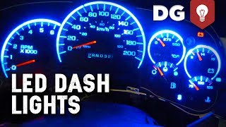 How To Replace GM Stepper Motor & LED Lights In Dash