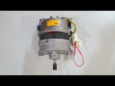 Utilidades y forma de conexión de un motor de lavadora.
