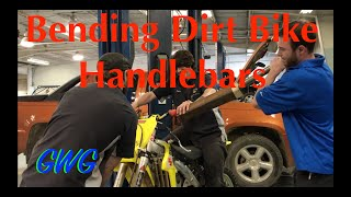 Bending Dirt Bike Handlebars