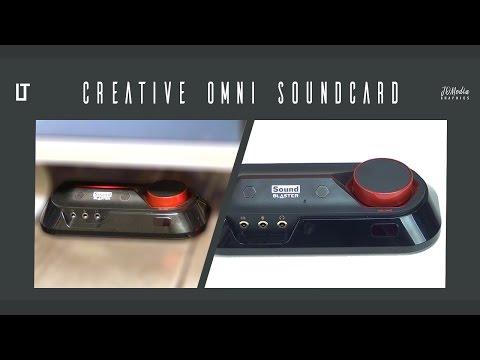 Can an External USB Soundcard Compete? (Creative Omni Sound Blaster 5.1)