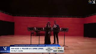 Duo Alisis S. PELLICER & H. LOMBA plays Ars by C. Lauba #adolphesax