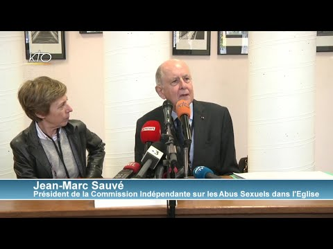 Commission indépendante sur les abus sexuels en France - conférence de presse