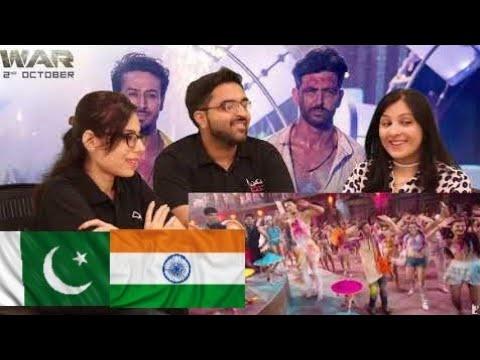 Jai Jai Shivshankar Song   War   Hrithik Roshan   Tiger Shroff   PAKISTAN REACTION