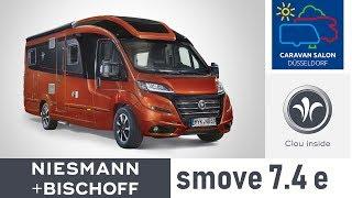 Niesmann + Bischoff - Smove 7.4 E. Caravan Salon Dusseldorf 2018