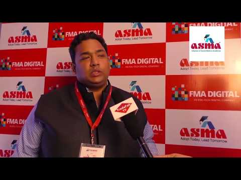 Dr. Bidyanand Jha, Project Head - ASMA at ASMA Annual Convention 2017