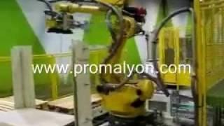 Palettisation automatisée de sacs
