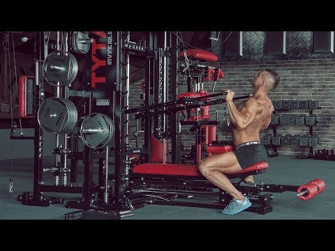 TYTAX® T1-X (Opt. JD) | Lever Front Lat Pulldown