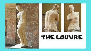 THE LOUVRE 🏛️: Stunning Looted Greek Statue Of Venus (Aphrodite De Milo)