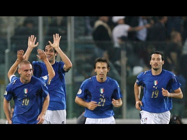 Italia-Ucraina 2-0 (7 ottobre 2006)