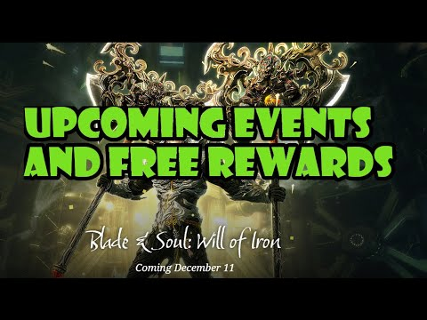 [Blade and Soul] Will of Iron Events Overview | Best Rewards to Get