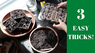 HOW TO START VEGETABLE GARDEN SEEDS INDOORS / Canadian Gardening That Saves You Money!