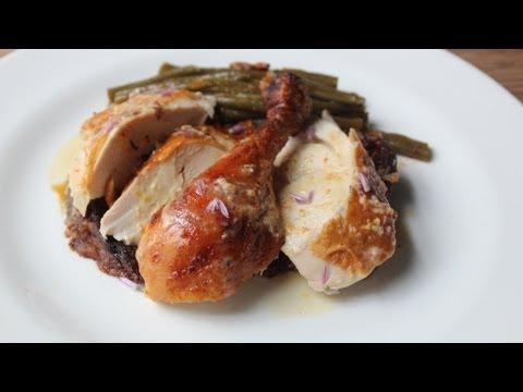 Million Dollar Chicken – Roast Chicken with Creme Fraiche